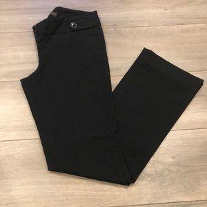 Limited exact stretch black dress pant